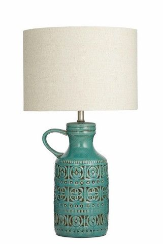 Diego Emerald Table Lamp