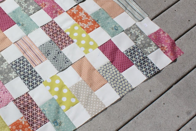 Quilt Patterns Using Squares And Rectangles : Color rectangles, White squares quilts Pinterest
