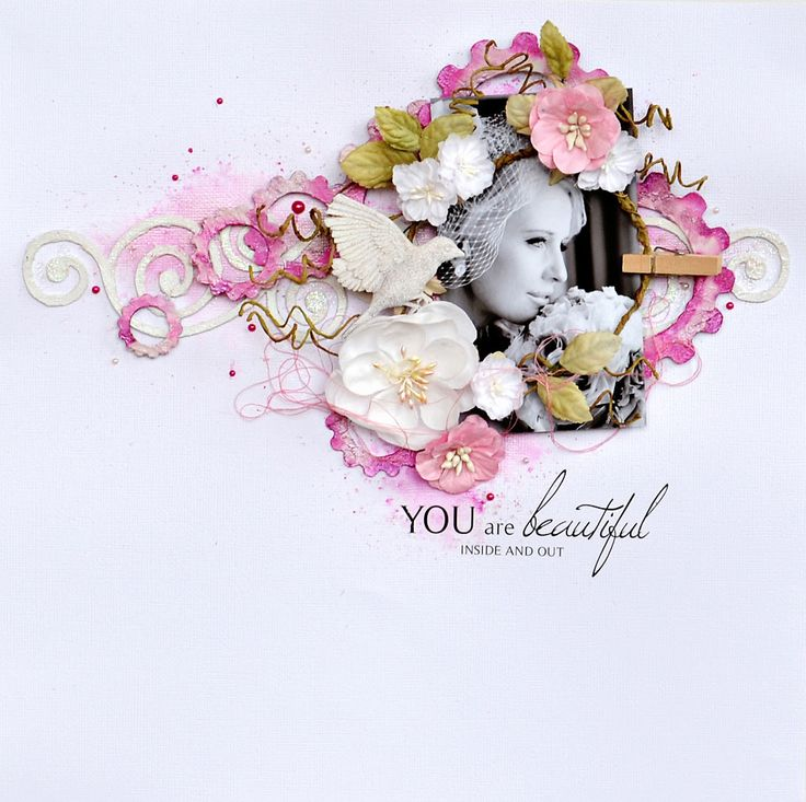 You+Are+Beautiful - Scrapbook.com