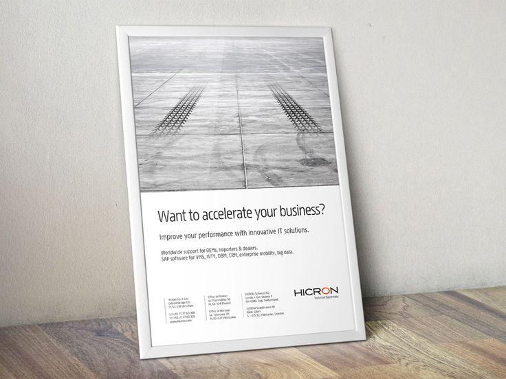 Key visual i reklama prasowa. #marketing #reklama #kreacja