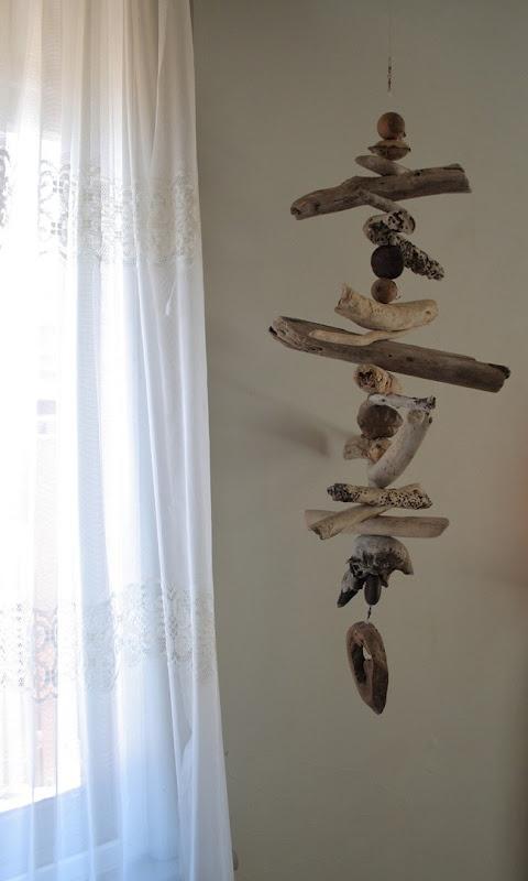 Driftwood mobile