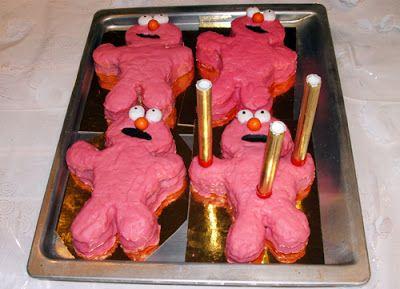 Gâteaux d'anniversaire Elmo