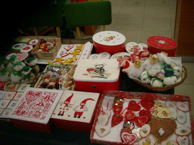 Karácsonyi vásári asztalom