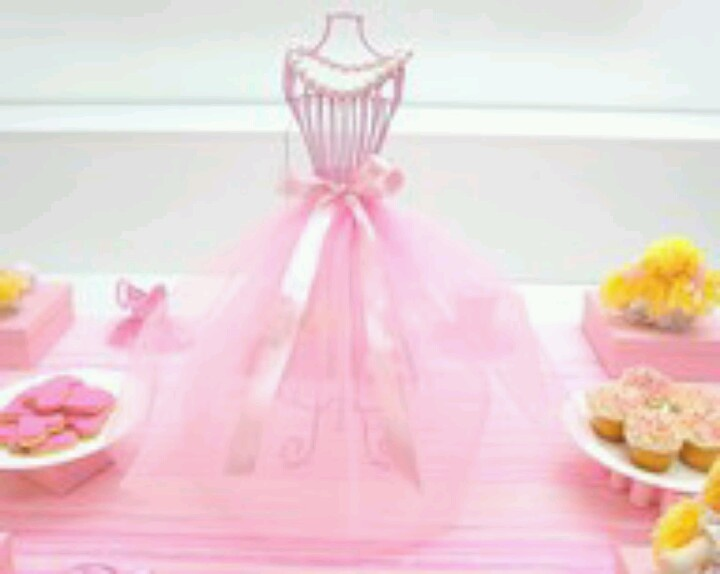 77 best images about ballerina baby shower on pinterest for Ballerina decoration