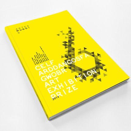 Cover layout design / Artes Mundi 6 Print Campaign