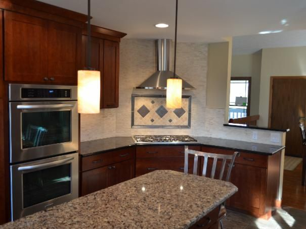 Photo of Brown Kitchen project in Rockford, IL by LaLoggia Construction & Remodeling