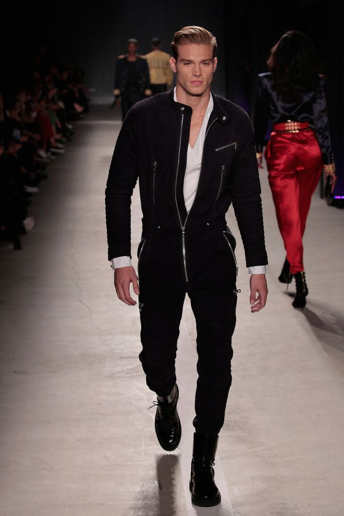 Balmain+x+H&M+runway+look - For more like this follow us or visit our…