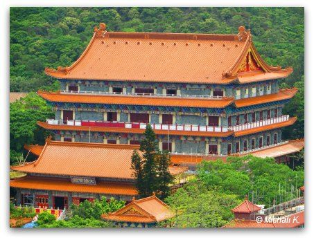 Hall of Ten Thousand Buddhas, it's a massive addition to the Po Lin Monastery, recently inaugurated.