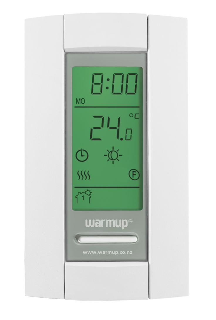 By utilising all the functionality of Warmup's user friendly thermostats, you can save hundreds of dollars in your heating bills. Offered in a sleek modern design, Warmup's user-friendly thermostats work in the background to help you minimise energy consumption and ensure that each room is at the right temperature as desired by the homeowner.