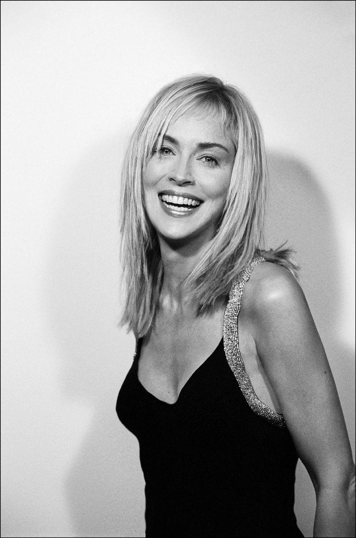 Sharon Stone by Emanuele Scorcelletti, 2005