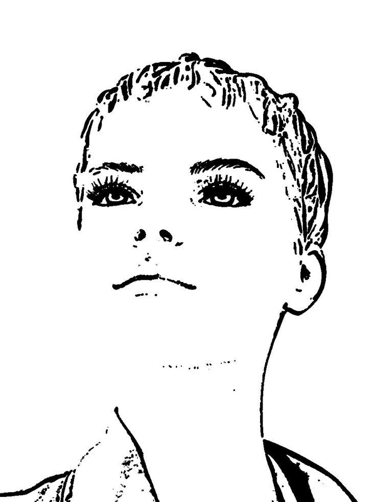 Display Dummy, Doll, Fashion, Face, Head, Hairstyle