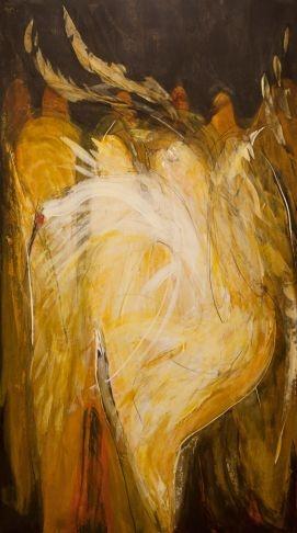 Louis Laprise - Danse en costume sacré