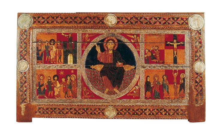 01.004.0014.01054.00986.1169 Frontal d'altar de Sant Andreu de Sagàs (1 615)(MEV)