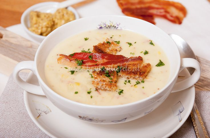 Ik ben geen soepkont. Als ik mag kiezen wat er 's avonds op tafel komt, denk ik geen seconde aan soep. Ik heb geen idee hoe dat komt. Want ik vind soep ...