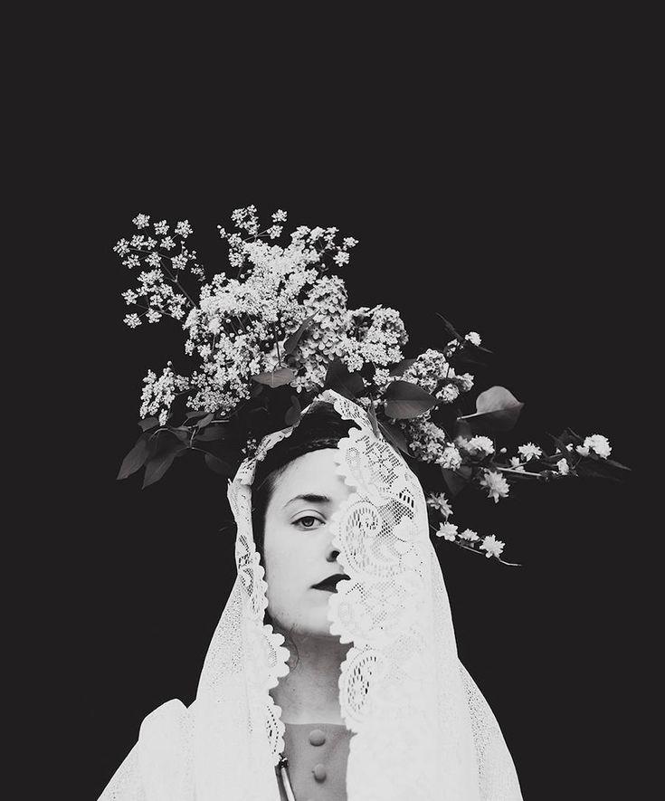 Sanatlı Bi Blog Çiçeği Sev, Kafayı Koru, Şiiri Unutma - Şiirsel Çiçekli Portreler 5