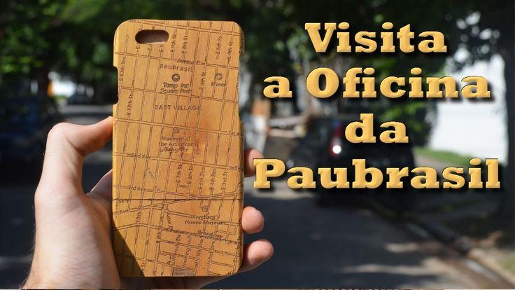 Capinhas para celular em madeira - Visita a Paubrasil
