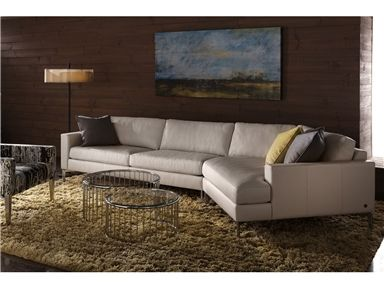Shop for American Leather , Oliver Sectional, and other Living Room Sectionals at Walter E. Smithe in 11 Chicagoland locations in Illinois and Merrillville, Indiana. Inspired by Italian sophistication, the Oliver was designed for exceptional comfort featuring plush cushioning and detail stitching.