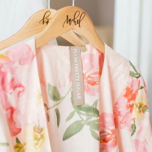 Pretty Persimmon robes ✨ Shop at www.PlumPrettySugar.com