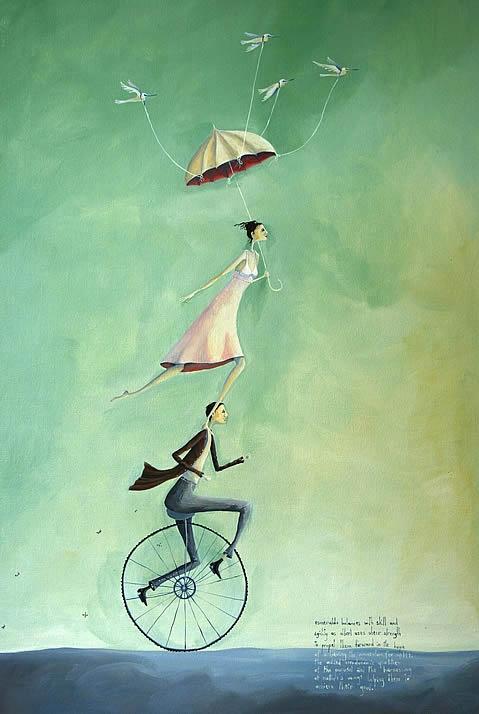 Crispin Korschen: Esmeralda Balances With Skill