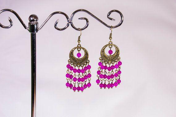 Speciale regalo - gioielli fatti a mano fatte di pietre naturali, cristalli e perline, realizzati in maniera unica dellautore. Sarà sottolineare la