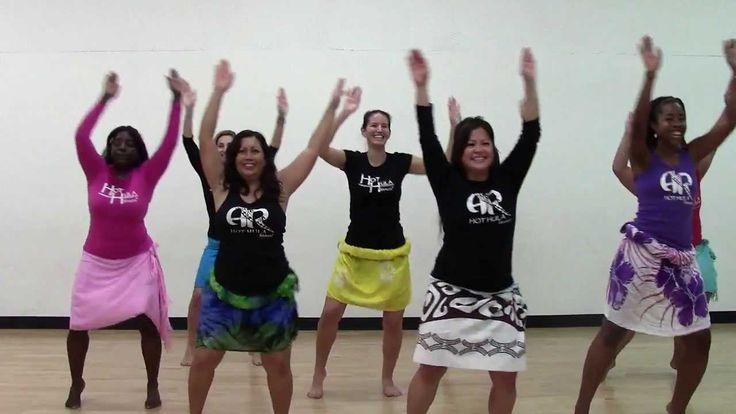 HOT HULA fitness Dance Workout - Week 3 - Part 1
