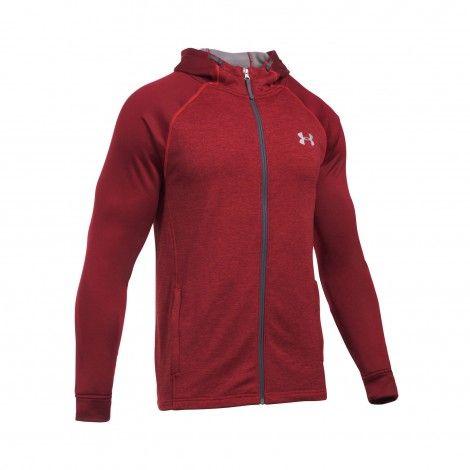 Under Armour Tech Terry vest heren red @underarmour #vest #underarmour #fitness #sport