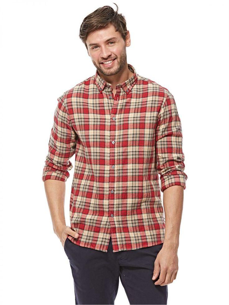 اشتري برودواي قميص احمر قبة قميص -رجال - بلايز/ تيشيرتات | السعودية | سوق