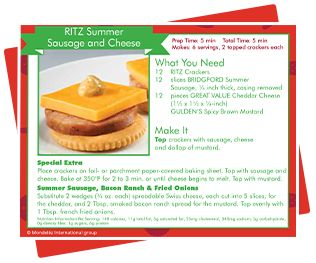 Buy one box of RITZ crackers in-store from Dec. 5 to Dec. 12. Receive a $10 Walmart Photo Center eGift Card.*