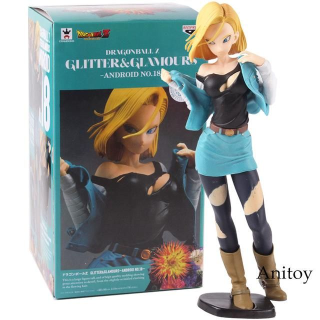 Anime Dragon ball Z Glitter /& Glamours  Blond Lunch Launch PVC Figure New In Box