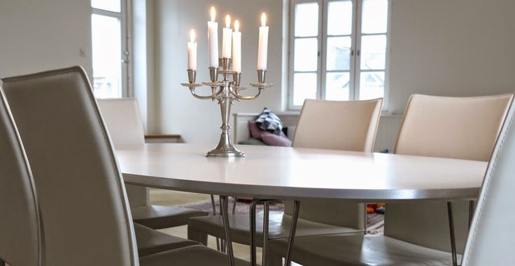 New superellipse table in our dining room