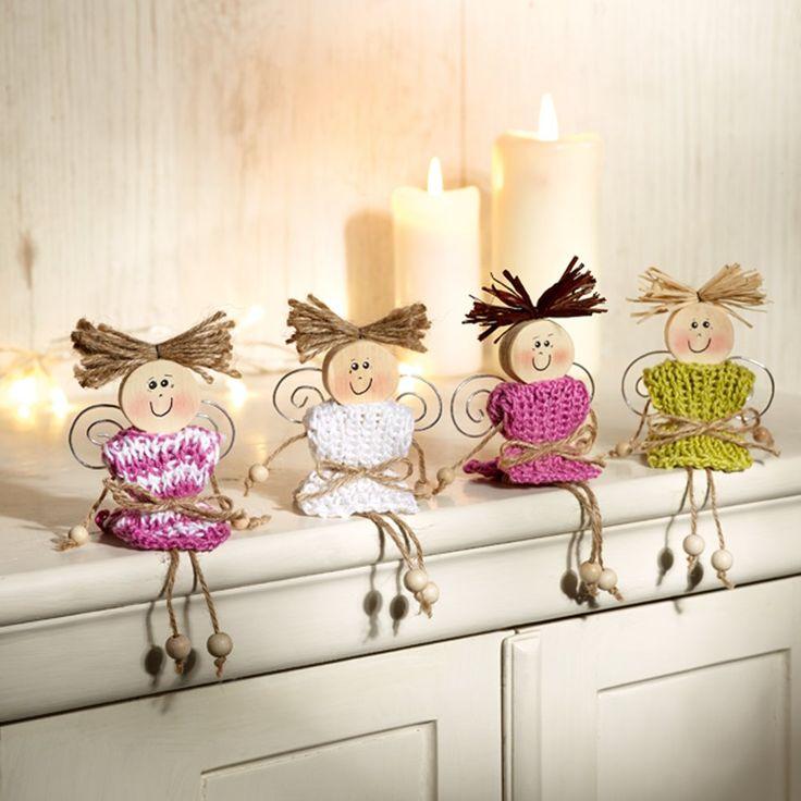 988 best angel crafts images on pinterest christmas. Black Bedroom Furniture Sets. Home Design Ideas