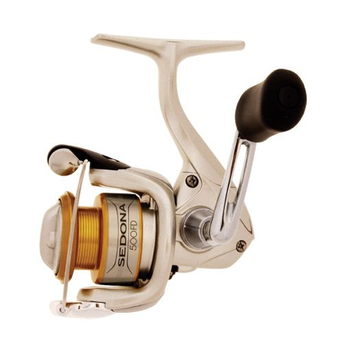 Shimano Sedona FD Spinning Reels    Get more bang for your buck with Sedona Spinning Reels. Available in a variety of sizes, the Sedona FD incorporates top-of-the-line features like Propulsion, Super Stopper II and Fluidrive II.
