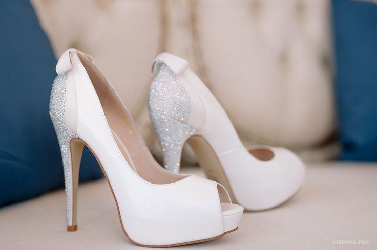 Wedding shoes Paris, heels white shoes VivaBride