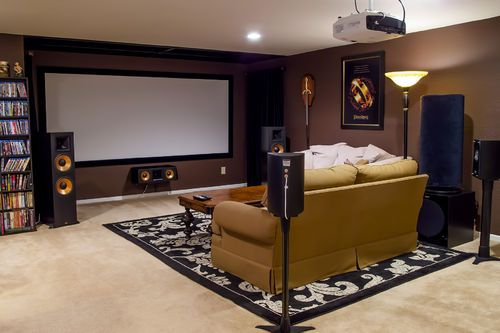 Edgar in indy 39 s home theater improvement thread before and after pics home theatre examples Home theater design ideas on a budget