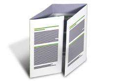 Unsere Falzflyer mit Fensterfalz 3-Bruch eignen sich optimal für Image-, Veranstaltungsflyer, Speisekarten und vieles mehr. Wir drucken Ihre Folder in perfekter Druckqualität, sodass Ihre Informationen glänzend beim Kunden ankommen. Egal ob wickel- oder zick-zack-gefalzt, unsere Folder können Sie in vielen verschiedenen Seitenzahlen, Format- und Papiervariationen bestellen. http://www.myflyer.de/Produkte/Falzflyer/Fensterfalz-3-Bruch.html