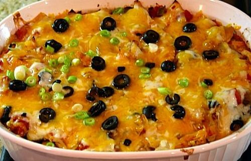 Chicken Enchilada Casserole