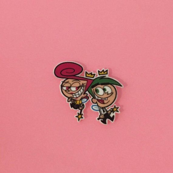 Fairly Odd Parents Pin Brooch Lapel Pin Fairy Disney Timmy Turner Cartoon Iphone Background Wallpaper Fairly Odd Parents Cartoon Wallpaper