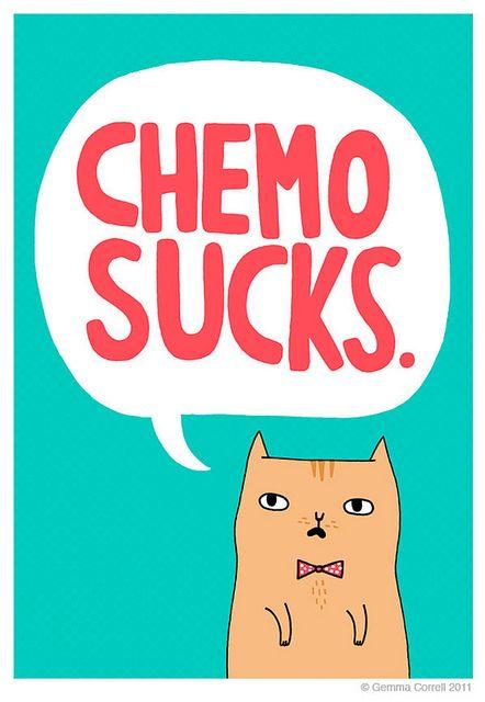 Chemo = Summertime Sadness. #chemosucks