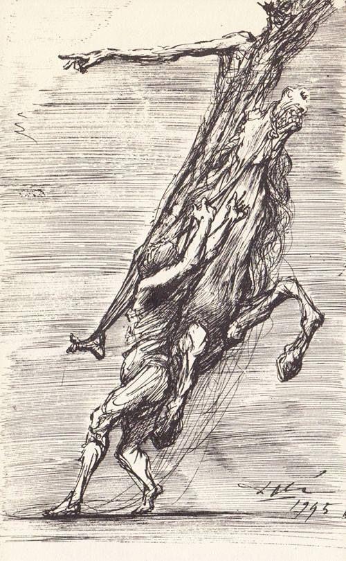 Salvador Dali - drawings