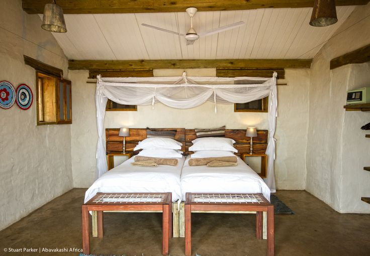 Guest Room at Chobe Elephant Camp in Botswana