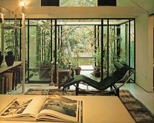 Arthur Erickson's home in Vancouver | Inspiring interiors