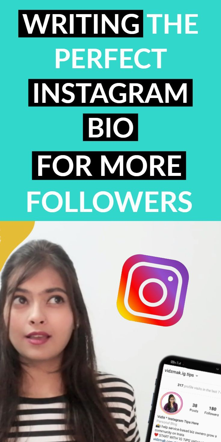 How to Write Instagram Bio: PERFECTLY (to bring MORE Followers