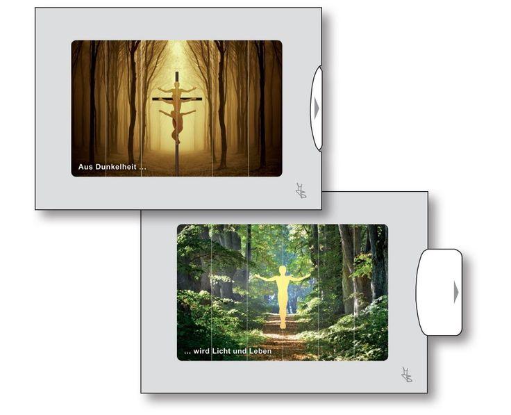 Zu wichtigen Lebensthemen finden Sie je zwei ausdrucksstarke Bilder mit kurzen Text-Impulsen. Das zweite Bild wird erst durch Ziehen sichtbar als Ausdruck eines inneren Weges oder für einen bewussteren Blick. Auf der Rückseite ausgewählte Bibelstellen als Anregung, das Lebensthema zu vertiefen. Doppelkarten zum Beschreiben und/oder Aufstellen. Doppelkarte zum Ziehen.