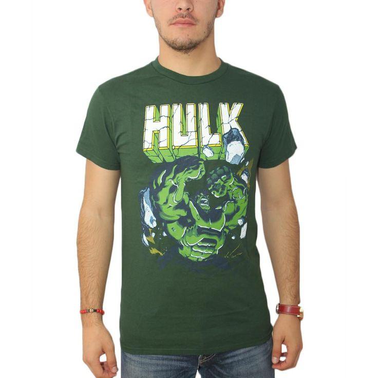 Marvel Hulk Smash Men's Green T-shirt
