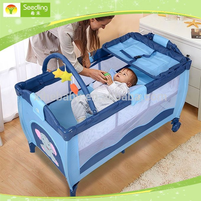 """Baby cot bed prices with music, canopy baby travel cot, portable deluxe baby crib"""
