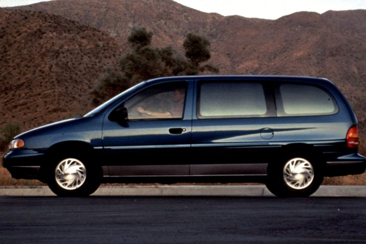 1996 Ford Windstar stock photo.
