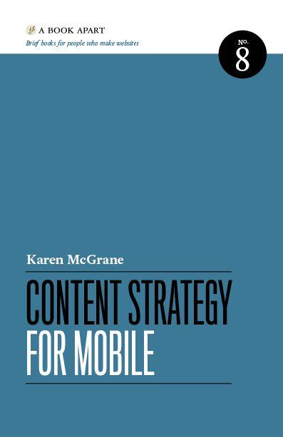 Stratégie de contenu - Karen McGrane - A Book Apart
