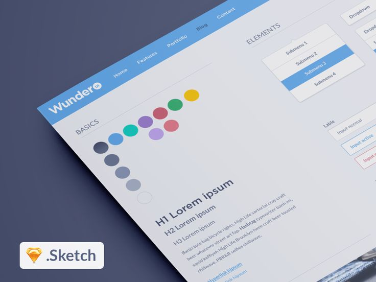 Best Sketch App Sources is a collection of free design resources for the Sketch software