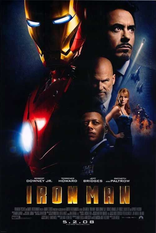Iron Man - Robert Downey Jr. is perfect casting as Tony Stark This is the only Iron Man movie that I love.