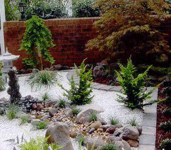 85 best images about parterre avec cailloux on pinterest for Jardines japoneses zen